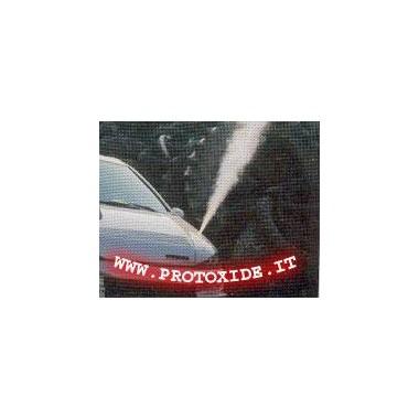 Purge Kit -1 exit-volle fles en beugels Reserveonderdelen voor distikstofoxidesystemen