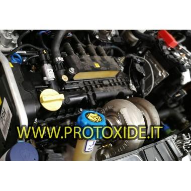 Collettore scarico acciaio Trasformazione Turbo Fiat Panda e Fiat 500 1200- motore Fire posizione turbo alta Collettori in ac...