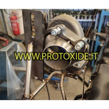 copy of Downpipe Uitlaat voor Peugeot - MiniCooper 1.6 voor R56 GT28-GTO262 Downpipe for gasoline engine turbo