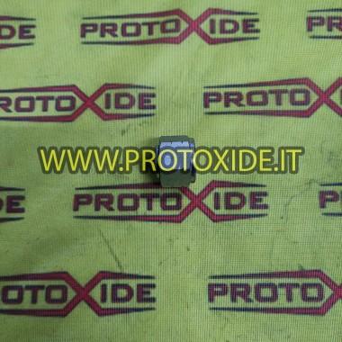 Tapón de tubería de agua Fiat 500 Abarth eliminando intercambiador agua-aceite Soporta filtro de aceite y accesorios enfriado...