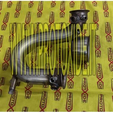 copy of Downpipe елиминира разтоварване FAP BMW 320 E92 Downpipe Turbo Diesel and Tubes eliminates FAP