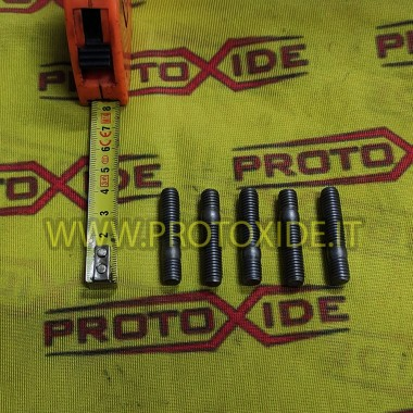 Studs 8mm x 1.25 for collectors and turbines 5pz Nuts, Prisoners and Special Bolts