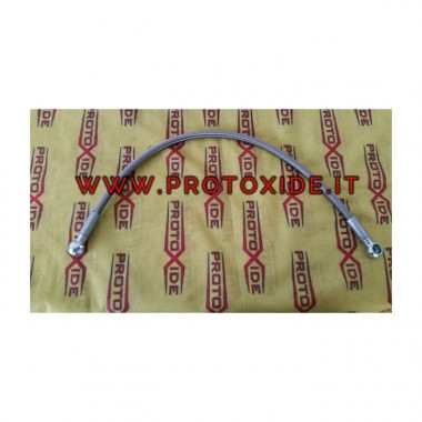 Oil tube in a metal sheath for Fiat 500, Abarth GrandePunto T-jet 1.4 for the original turbo or TD04
