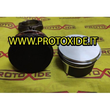 forged pistons MiniCooper R53 for volumetric engine Forged Auto Pistons