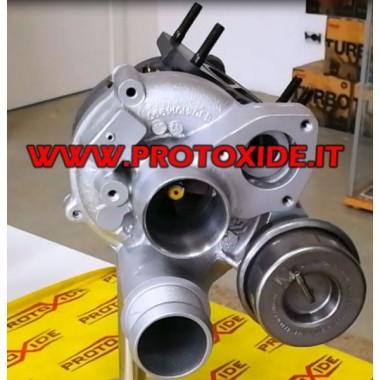 copy of שינוי של טורבו אאודי Volkwagen גולף 1.4 FSI תקע והפעל Turbochargers על מסבי מירוץ