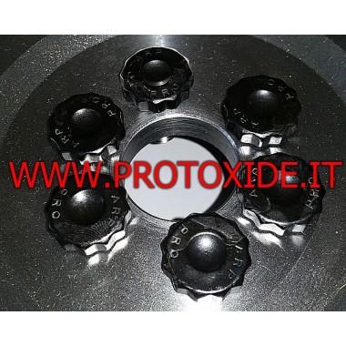 Tornillos de volante reforzados Fiat Coupe Turbo 20v 12mm Pernos de volante reforzados