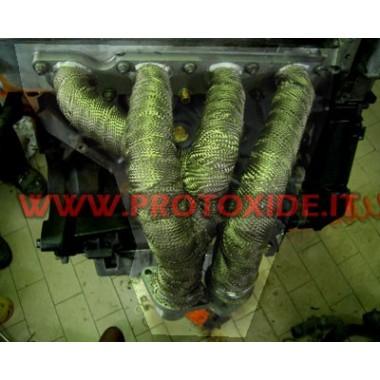 ステンレス鋼排気マニホールドルノークリオ1.800-2.000 16V 4-2-1 アスピレーター用スチールマニホールド