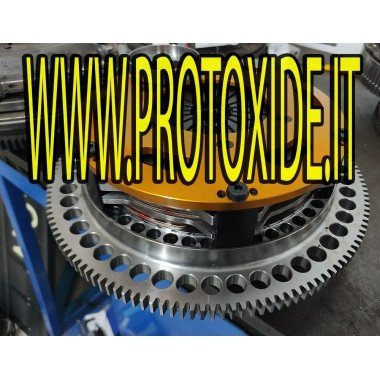 2ディスククラッチミニクーパーR53付きスチールフライホイールキット 補強された二重クラッチ付きのフライホイールキット