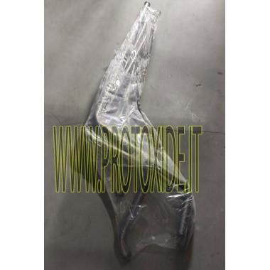 Țevi de apă Lancia Beta Montecarlo motor de răcire din oțel inoxidabil 2 bucăți Mâneci specifice pentru mașini