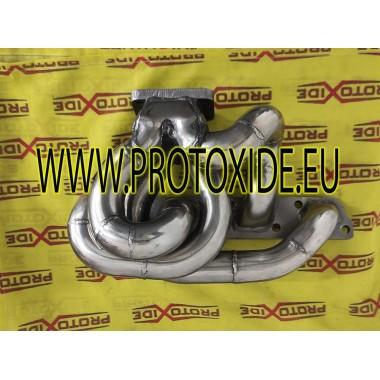 Collettore scarico acciaio Minicooper R53 per trasformazione turbo posizione ALTA Collettori in acciaio per motori Turbo Benzina