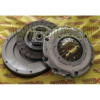 Einmassenschwungrad Kit verstärkt Grandepunto 120-130Hp Stahlschwungradsatz komplett mit verstärkter Kupplung