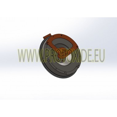 copy of ערכת גלגל תנופה מונומסה עם מצמד נחושת מחוזק לפז'ו סיטרואן DS3 פלדה גלגל תנופה ערכת להשלים עם מצמד
