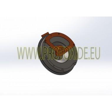 Enkeltmassesvinghjulssæt stål med forstærket kobling Citroen DS3 1.600 Peugeot 208 GTi THP 200-207hk Stål svinghjul kit kompl...
