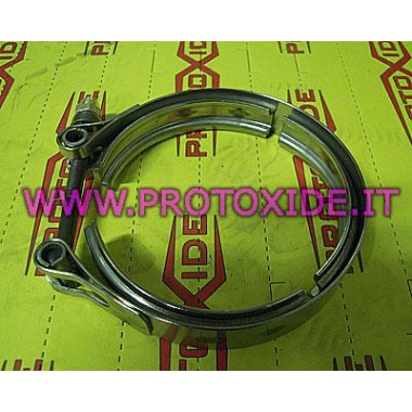 copy of V-band clamp for Alfa Giulietta 2000 175hp downpipe Clamps and rings V-Band