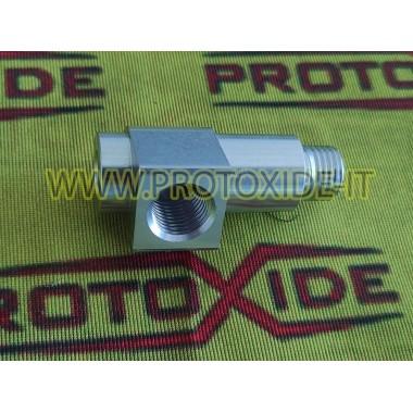 Adaptador adaptador T para instalar el sensor de presión de aceite del motor fiat Manómetros Turbo, Gasolina, Aceite