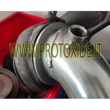 Downpipe scarico per Opel Corsa- Astra OPC 1.600 Turbo non catalizzato libero Downpipe per motori turbo a benzina