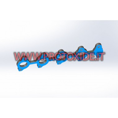 copy of Head flange 1.9 JTD 8v Fiat Alfa Lancia Flanges exhaust manifolds