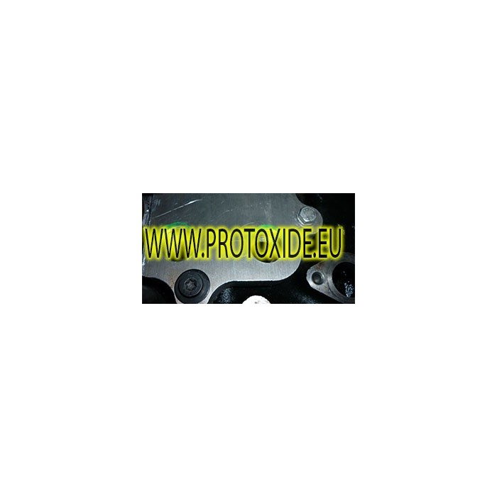 Adattatore sandwich portafiltro piastra per radiatore olio BMW F30 - F31 Supporti filtro olio e accessori per radiatore olio ...