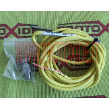 Termocoppia nipple professionale Sonda K 3mm Ultraveloce per temperatura gas di scarico EGT Sensori, Termocoppie, Sonde Lambda