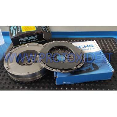 Kit Volano monomassa acciaio con frizione rinforzata Alfa Giulia 2200 Turbodiesel Kit volani acciaio con frizione bidisco rin...