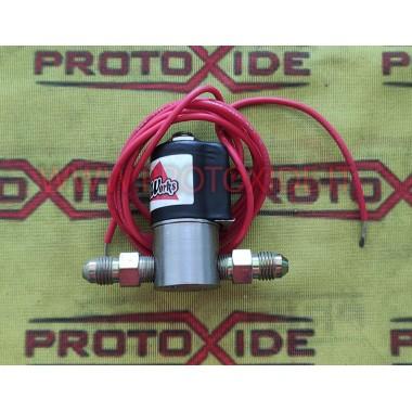 Electroválvula para GASOLINA para kit de óxido nitroso Repuestos para sistemas de óxido nitroso