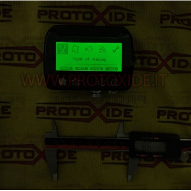Cruscotto digitale per auto e moto OBD2 RS232 CAN BUS centralina da competizione con acquisizione dati e GPS Cruscotti Digitali