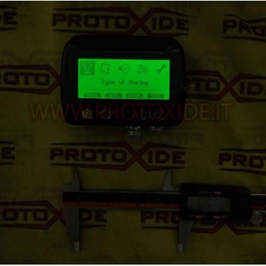 Cruscotto digitale per auto e moto OBD2 RS232 CAN BUS centralina da competizione con acquisizione e GPS Cruscotti Digitali