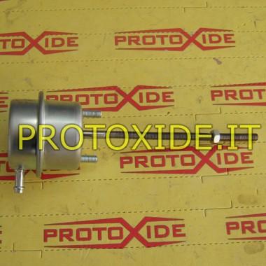 Wastegate rinforzata regolabile da 0.7 a 1.3 bar di pressione con doppio tubo Wastegate interne