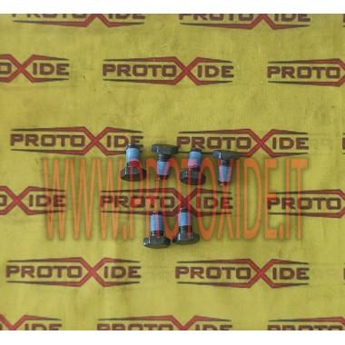 シングルマスフィアットアルファJTD用に変更されたフライホイールボルト 強化フライホイールボルト