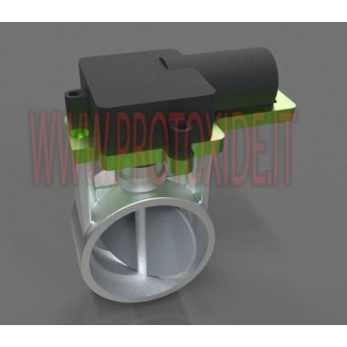 Škrtící ventil pro elektronický otvor výfukového tlumiče Audi - Volkswagen vyměňte ORIGINÁLNÍ VENTIL Ventily vyfukují výfukov...