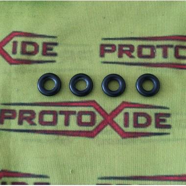 Gommini O-ring per iniettori Renault Clio 1800-2000 16v Williams inferiori testata Distanziali Adattatori e cablaggi Iniettori