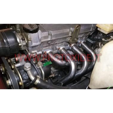 エキゾーストマニホールド Alfa 75 Twin Spark 2000 吸引 4-2-1 148hp ステンレス鋼 アスピレーター用スチールマニホールド