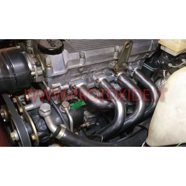 Exhaust manifold Alfa 75 Twin Spark 2000 aspirated 4-2-1 148hp stainless steel Steel manifolds for aspirated engines