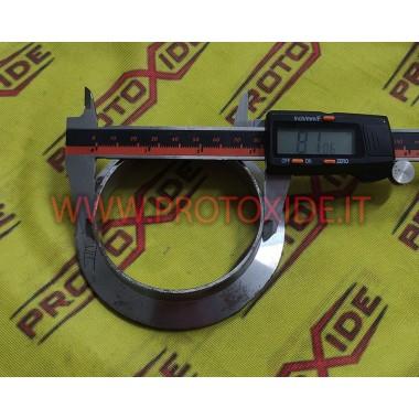 Příruba v-band výfukového prstence pro výfuk z výfukového potrubí z nerezové oceli Volkswagen Golf 7 GTi Příruby pro turbodmy...
