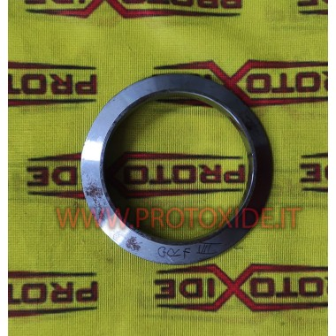 Exhaust ring v-band flange for Volkswagen Golf 7 GTi stainless steel muffler downpipe outlet Flanges for Turbo, Downpipe and ...