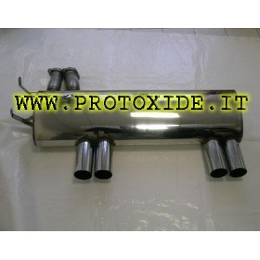 Exhaust for BMW M3 E36 in Stainless Steel Products categories