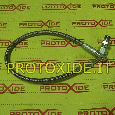 copy of Oil hose in metal stocking for Renault 5 GT for original turbo Oil pipes and fittings for turbochargers