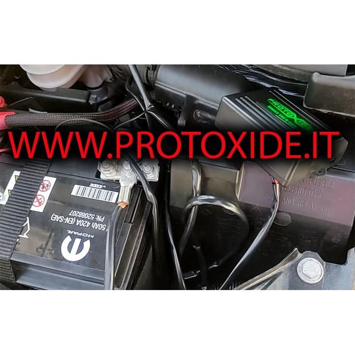 Kit wireless apertura e chiusura scarico con Telecomando per scarico Fiat 500 Abarth Competizione Valvole marmitta scarico
