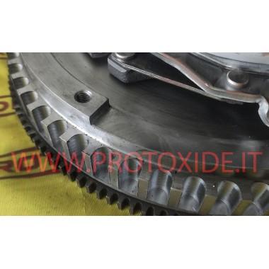 Kit Volano monomassa acciaio con frizione rinforzata Ford Focus ST MK2 2500 Turbo Kit volano acciaio completi di frizione rin...