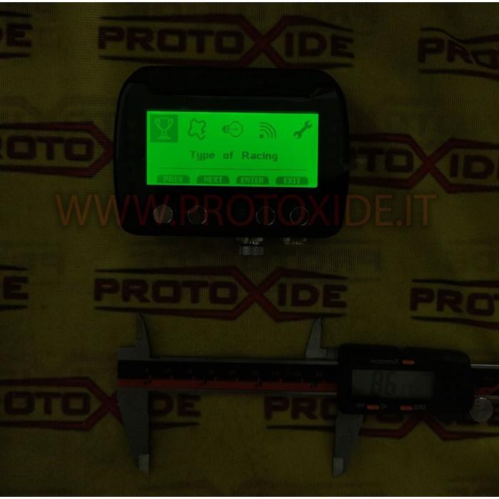 """Cruscotto digitale 4.13"""" auto e moto OBD2 RS232 CAN BUS centralina da competizione con acquisizione dati e GPS Cruscotti Digi..."""