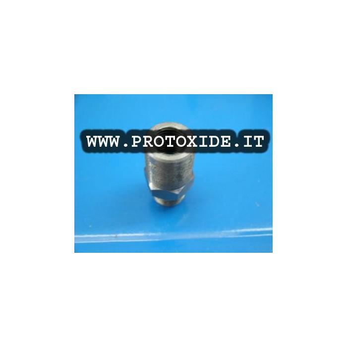 Raccordo restrittore olio per turbocompressori GT - GTX Garrett cuscinetti per occhio Banjo 10mm Accessori per Turbo