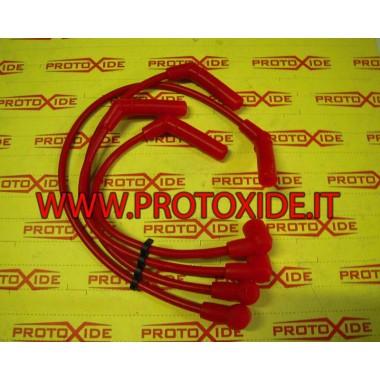 Cables de bujías para fiat Punto GT 8.8mm alta conductividad rojo Cables de vela específicos para automóviles