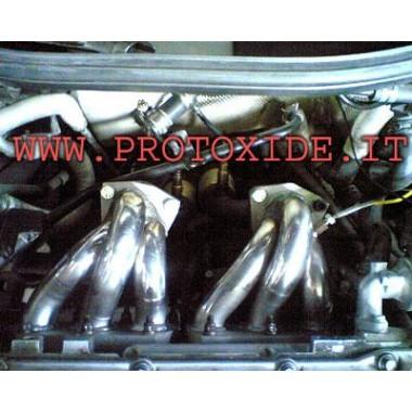 Egzoz manifoldu Volkswagen Golf 2.8 VR6 Emişli motorlar için çelik manifoldlar