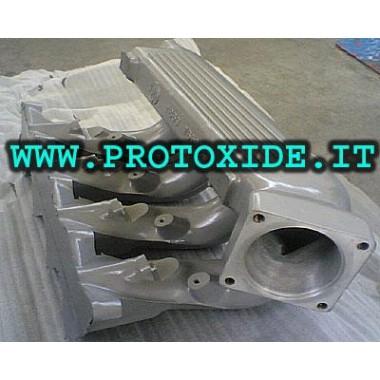 Indsugningsmanifold modifikation for Lancia Delta 16v Turbo Indsugningsmanifolder