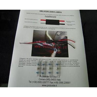 Subaru için lambda sondası için emülatör Katalitik ve sahte katalizörler