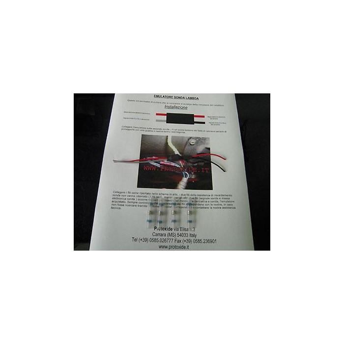 Émulateur pour la sonde lambda pour Subaru Catalyseurs et faux catalyseurs