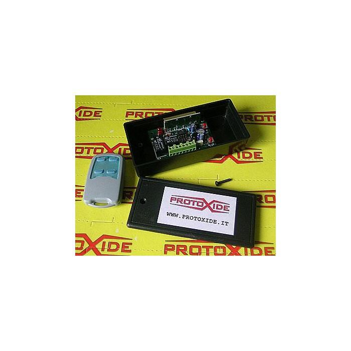 Attivatore wireless con telecomando Interruttori e pulsanti
