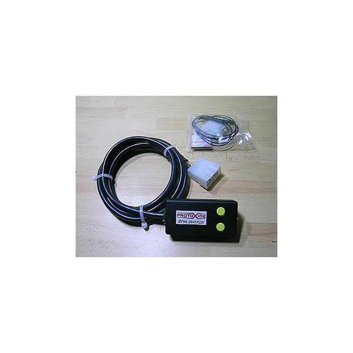 Unidad de control con interruptor según los giros La instrumentación electrónica varía