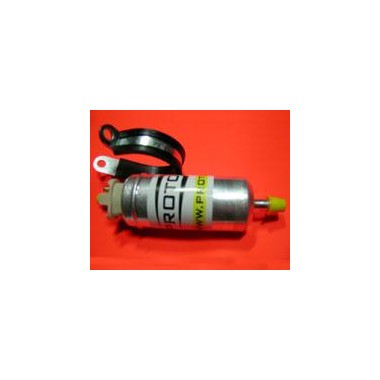 Fuel pump for carbureted nitrous systems
