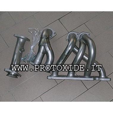 Col·lector d'escapament d'acer inoxidable Renault Clio 1.800-2.000 16V 4-2-1 Col·lectors d'acer per a motors aspirants